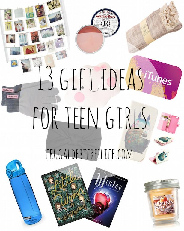 Gift Ideas Teenage Girls  13 t ideas under $25 for teen girls — Frugal Debt Free Life