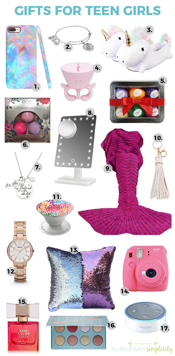 Gift Ideas Teenage Girls  17 Best Gift Ideas for Teen Girls