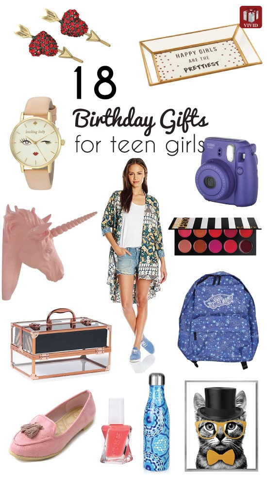 Gift Ideas Teenage Girls  18 Top Birthday Gift Ideas for Teenage Girls Vivid s