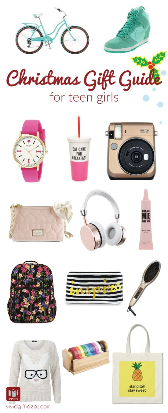 Gift Ideas Teenage Girls  Holiday Gift Guide What to Get for Teen Girls Vivid s