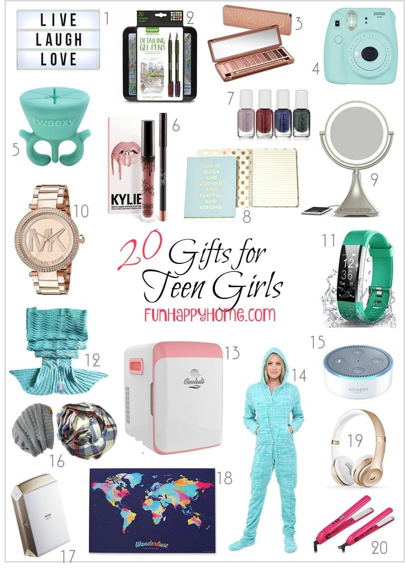 Gift Ideas Teenage Girls  Gifts For Teen Girls That Will Make Them Think You re Cool
