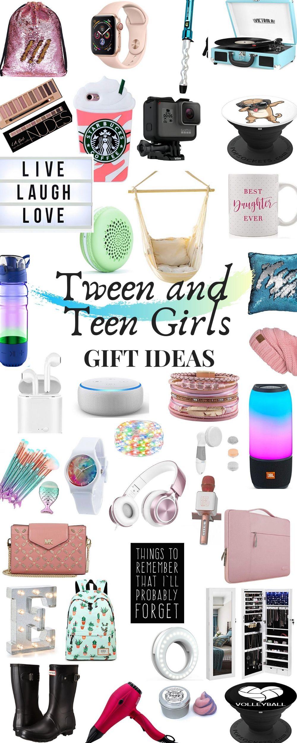 Gift Ideas Teenage Girls  Teenage Girl and Tween Girl Gift Guide 2019