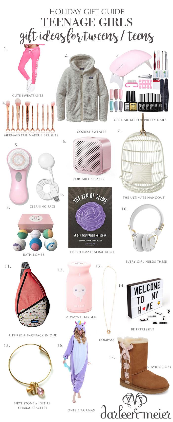 Gift Ideas Teenage Girls  Holiday Gift Guide for Teen Girls Darling Darleen
