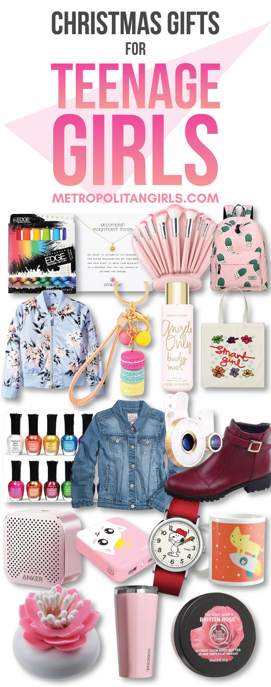 Gift Ideas Teenage Girls  Top 20 Christmas Gift Ideas for Teenage Girls 2019