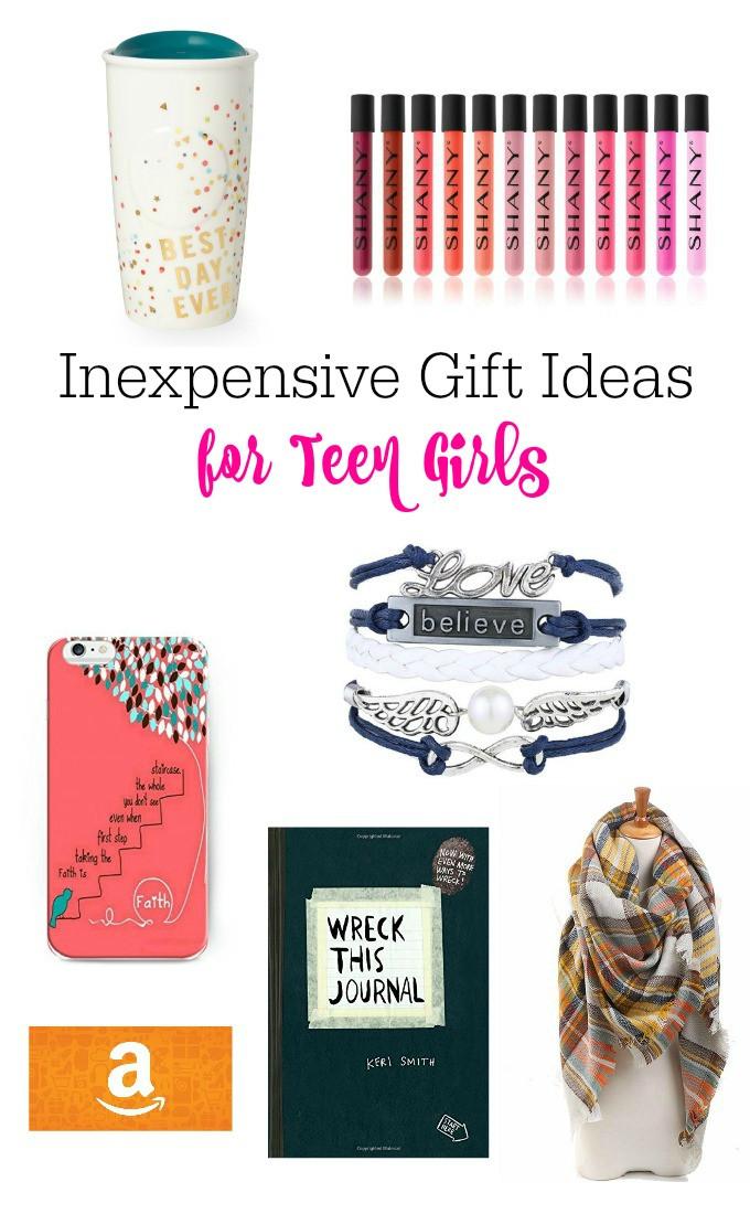 Gift Ideas Teenage Girls  Inexpensive Gift Ideas For Teen Girls