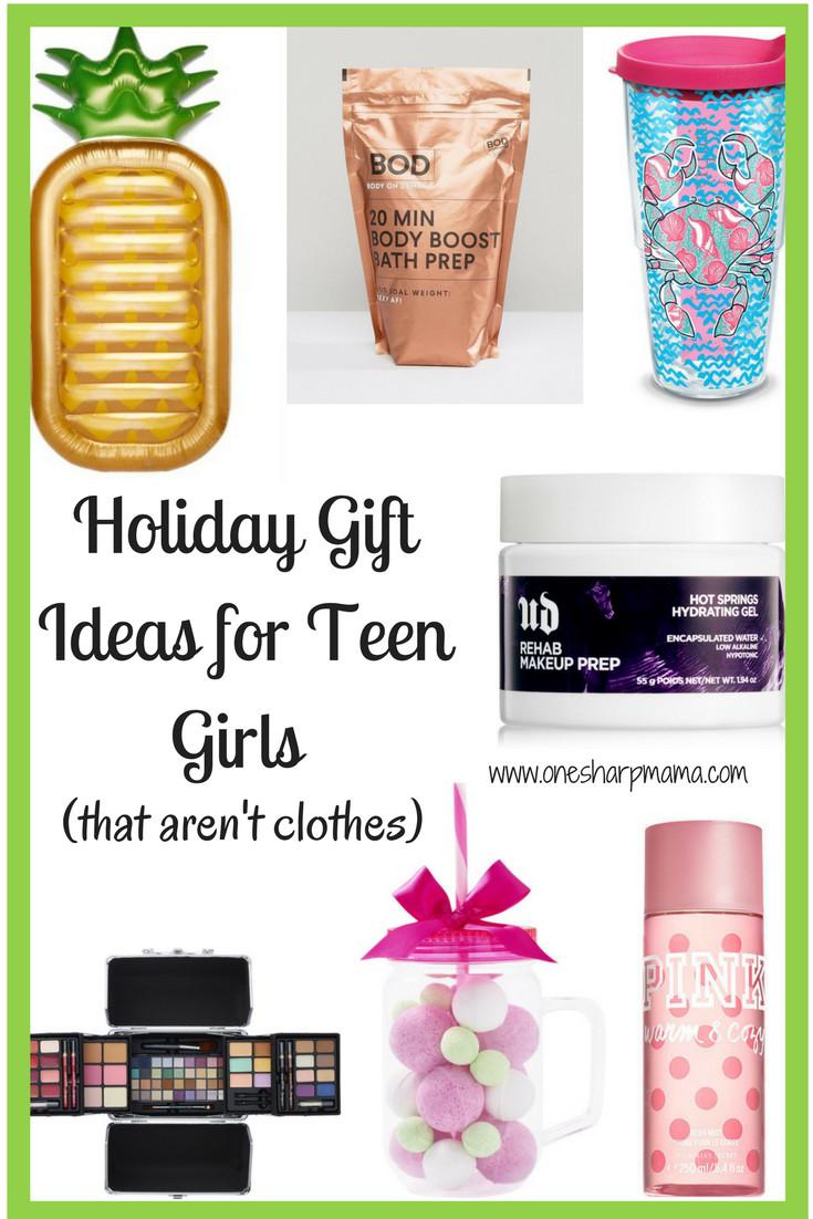Gift Ideas Teenage Girls  Teen Girl Holiday Gift Ideas 2017 e Sharp Mama