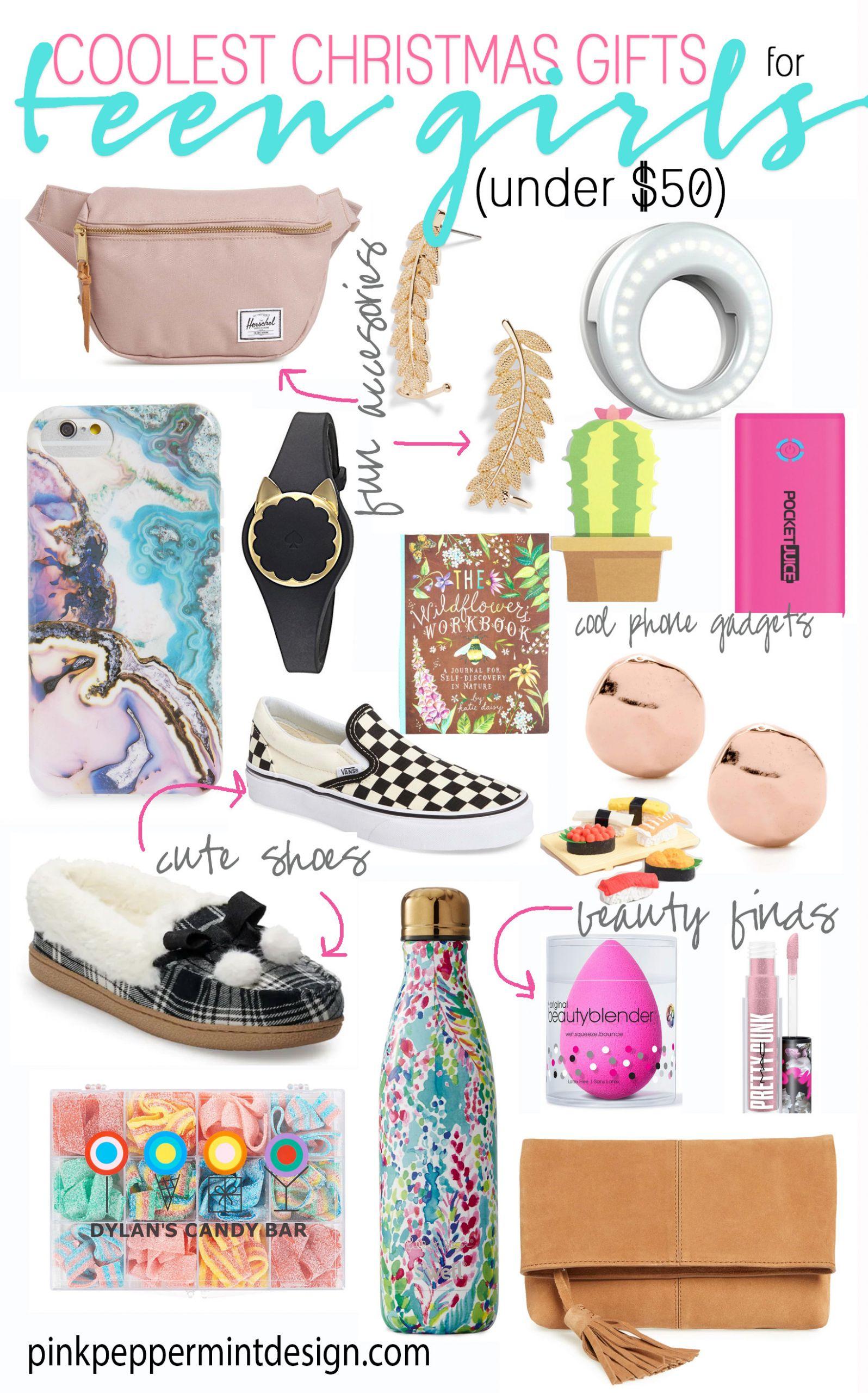 Gift Ideas Teenage Girls  Teenage Tween Girl Christmas List Gift Ideas for Teen