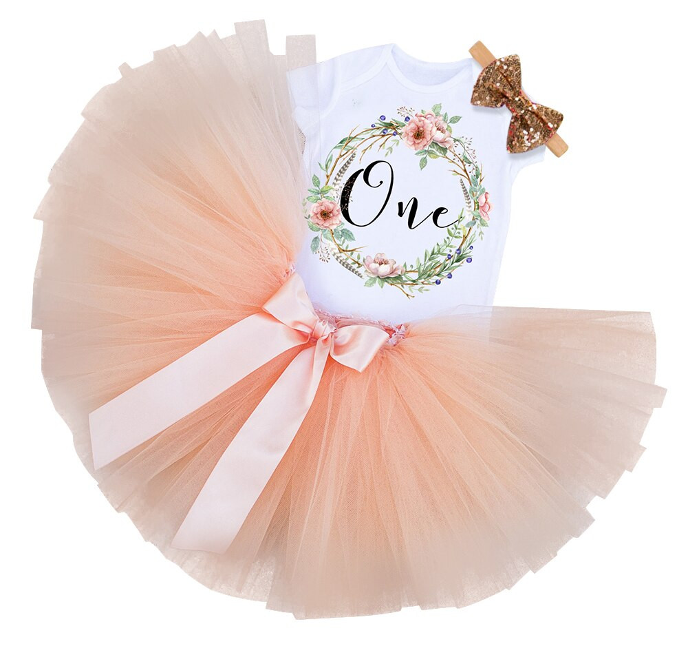 Gifts For Baby Girls First Birthday  My Little Girl 1st Birthday Party Sets Baby Tutu Cake