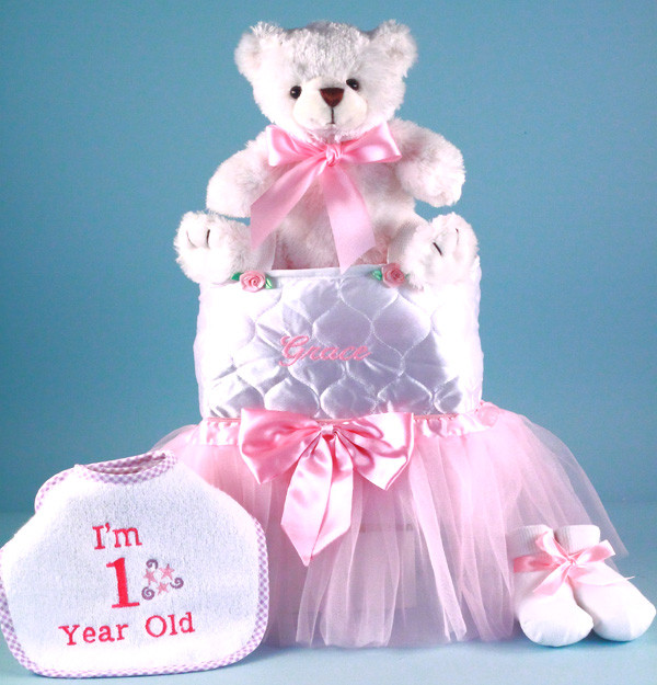 Gifts For Baby Girls First Birthday  Personalized Baby Girl Gift First Birthday by by Silly Phillie