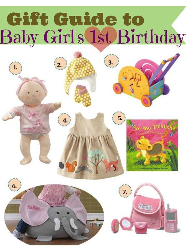 Gifts For Baby Girls First Birthday  Gift ideas for baby girls first birthday