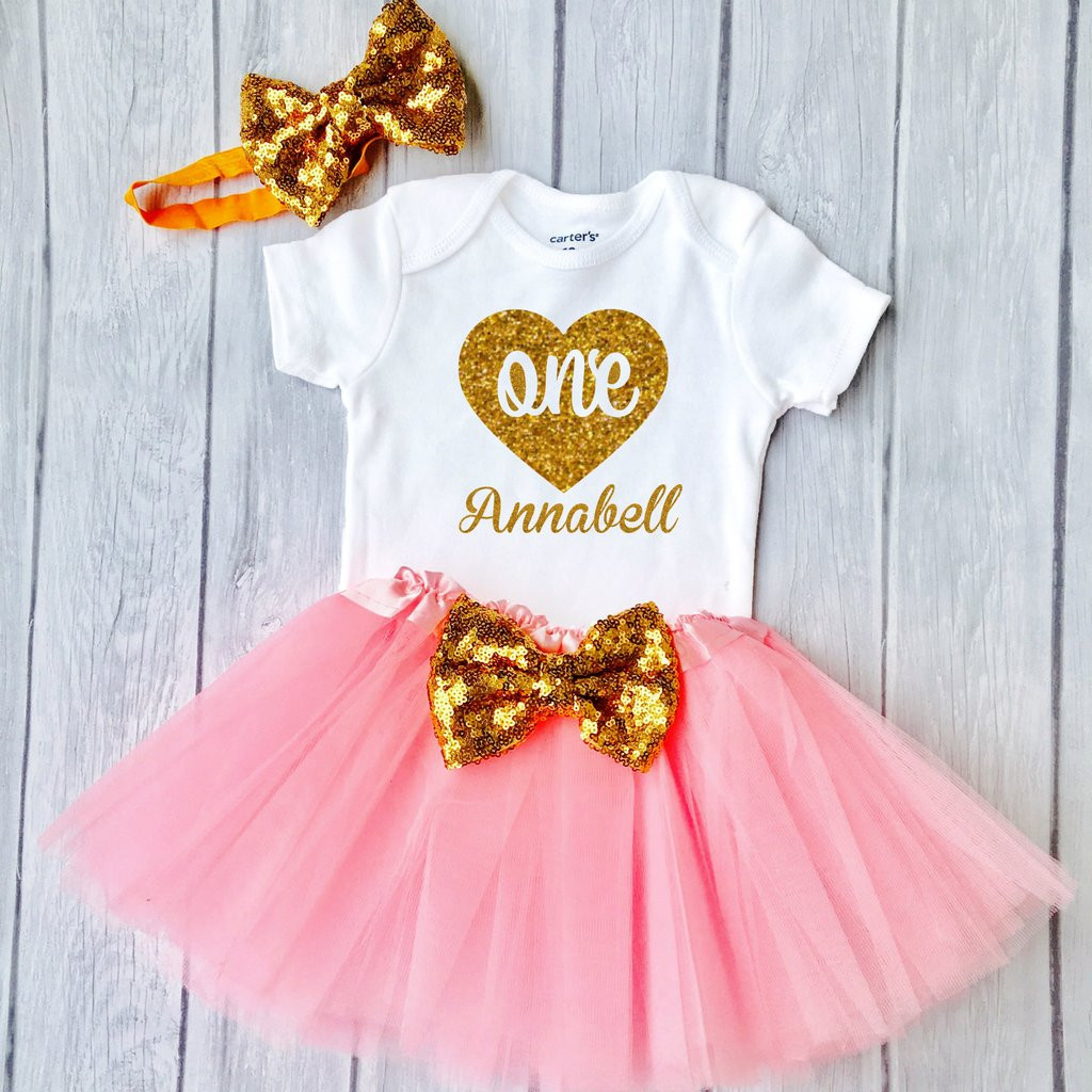 Gifts For Baby Girls First Birthday  Baby Girls First Birthday Outfit special t for your