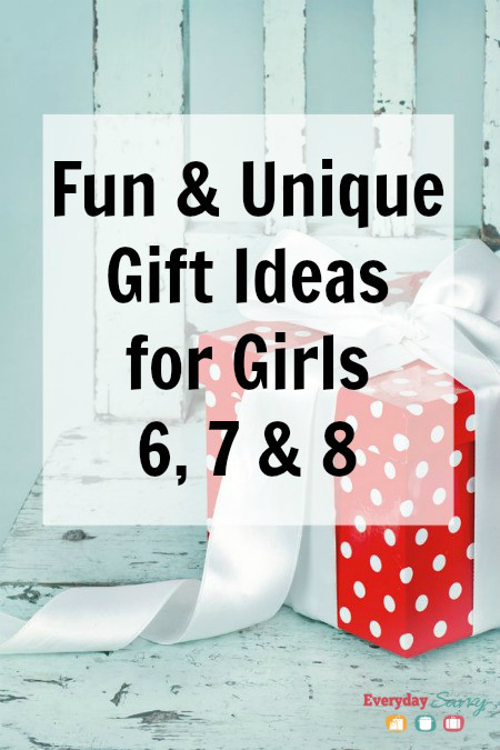 Girls Age 7 Gift Ideas  Fun & Unique Gift Ideas Girls Ages 6 7 8