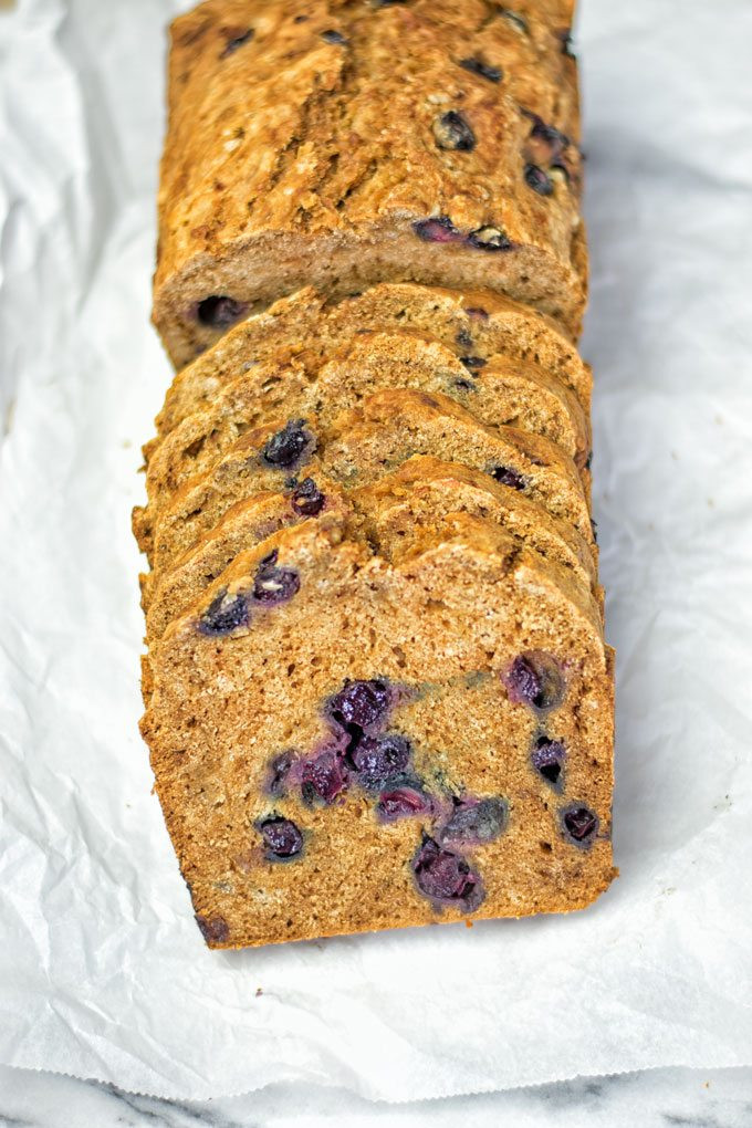 Gluten Free Blueberry Bread  Gluten Free Blueberry Bread Contentedness Cooking