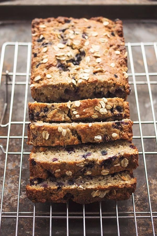Gluten Free Blueberry Bread  Gluten Free Blueberry Oatmeal Bread The Lemon Bowl