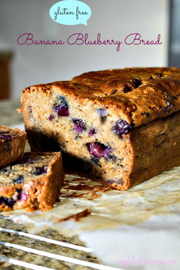 Gluten Free Blueberry Bread  Gluten Free Blueberry Banana Bread ly Gluten Free Recipes