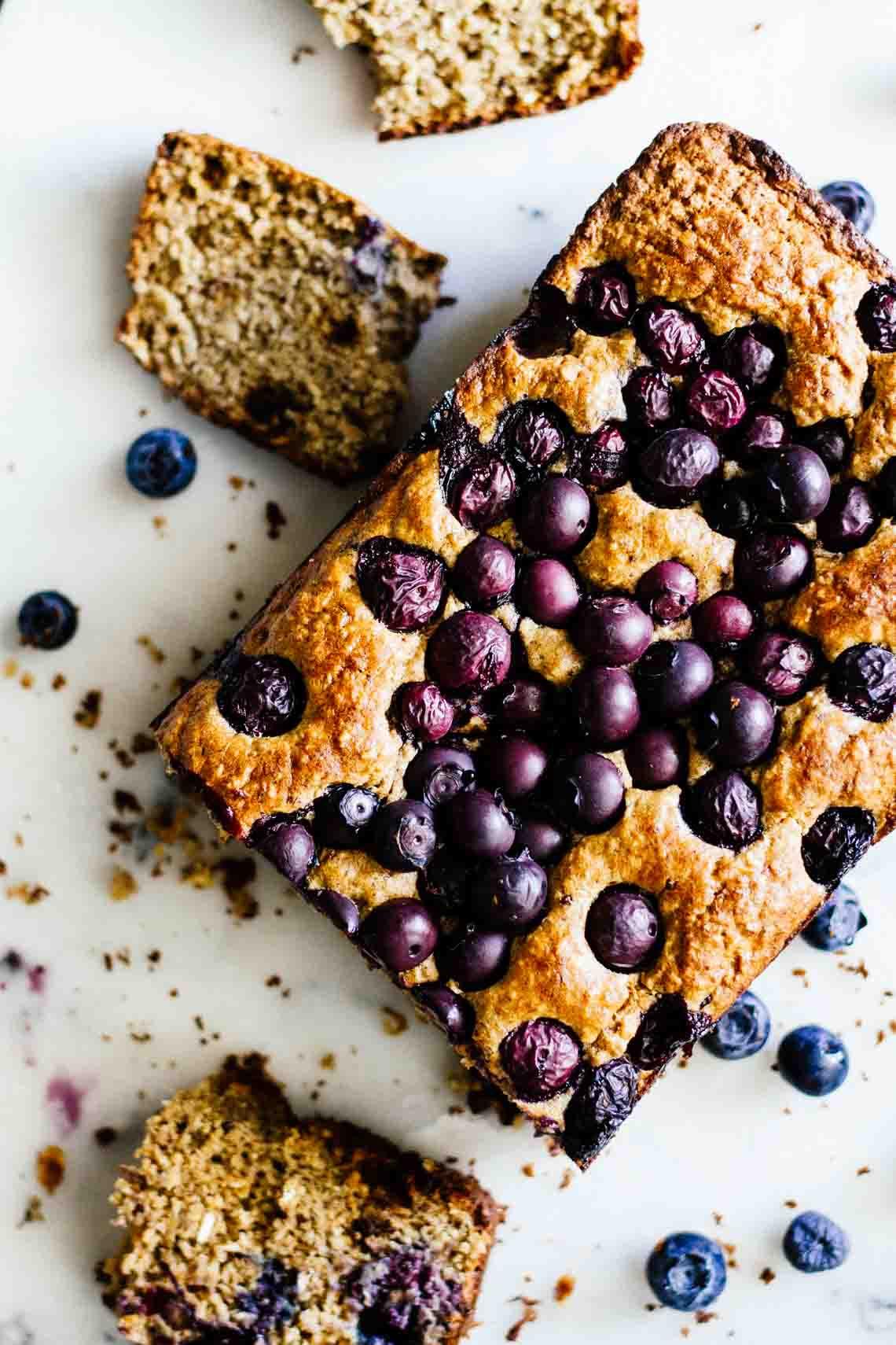 Gluten Free Blueberry Bread  Gluten Free Blueberry Bread Jar Lemons