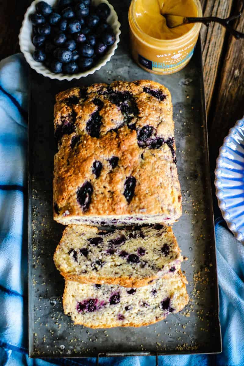 Gluten Free Blueberry Bread  Gluten Free Blueberry Honey Quick Bread This Mess is Ours