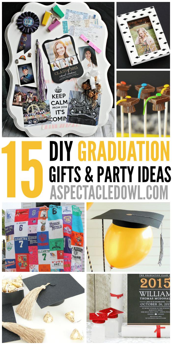 Graduation Gag Gift Ideas  15 DIY Graduation Gift & Party Ideas A Spectacled Owl