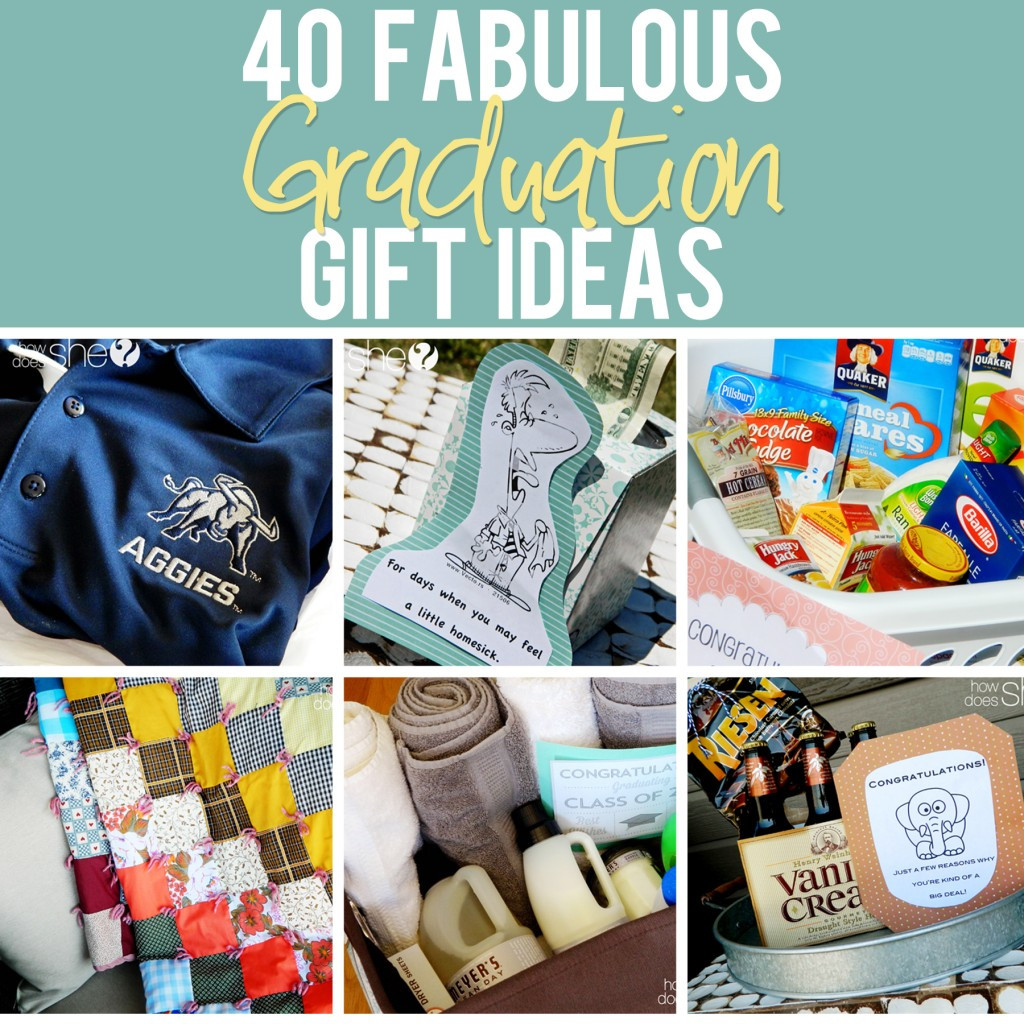 Graduation Gag Gift Ideas  40 Fabulous Graduation Gift Ideas The best list out there