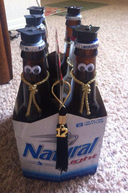 Graduation Gag Gift Ideas  Graduation gag t for a Frat boy