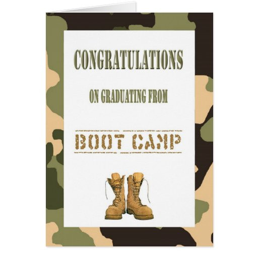 Graduation Gift Ideas For Army Boot Camp  Boot Camp Gifts T Shirts Art Posters & Other Gift