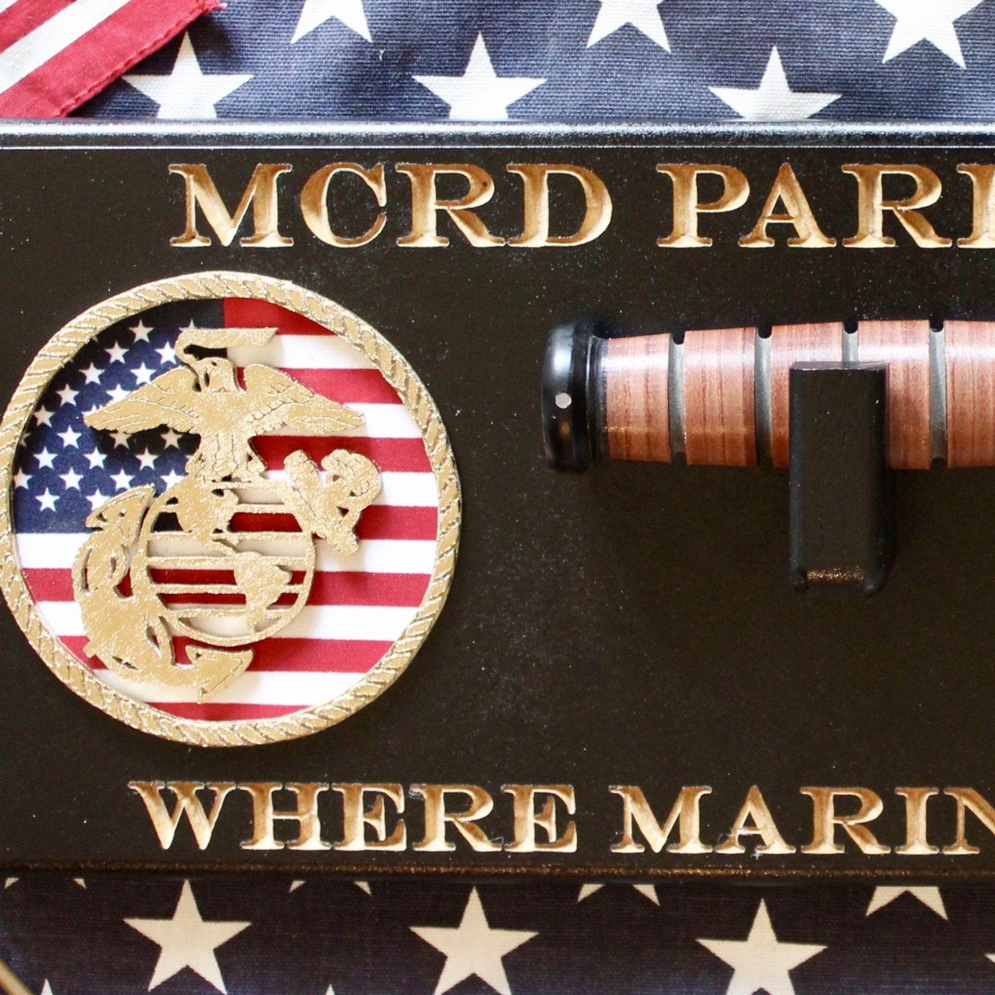 Graduation Gift Ideas For Army Boot Camp  USMC Boot Camp Graduation Display Military Gifts Made of