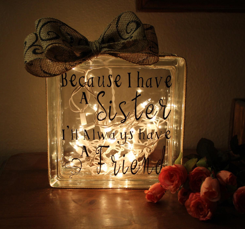 Graduation Gift Ideas For Sister  Sister ts Sister Birthday t for Sister Gift ideas