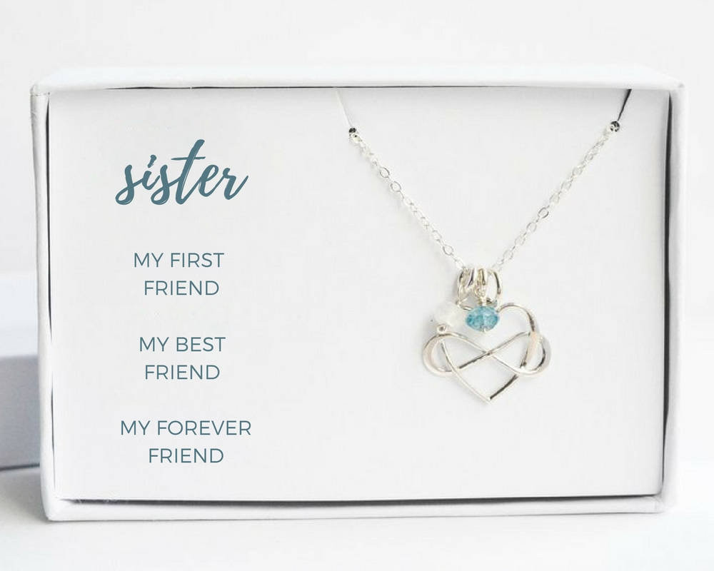 Graduation Gift Ideas For Sister  Sister Graduation Gift Sister Birthday Gift Silver Sisters