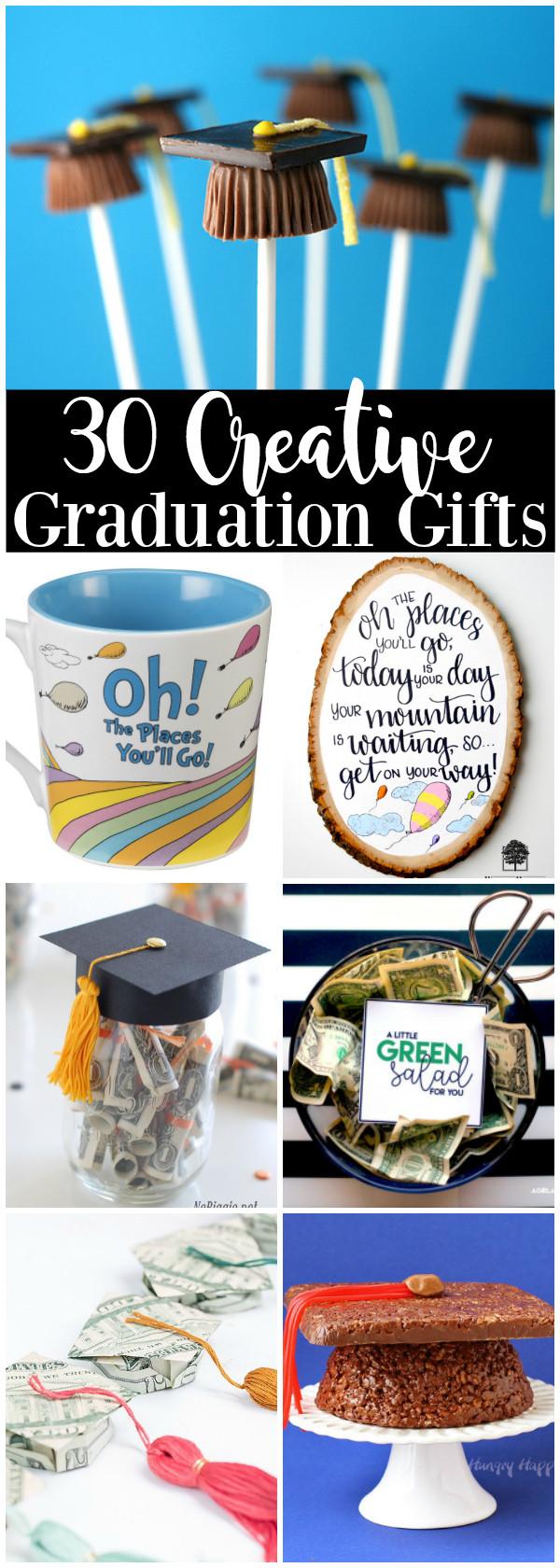 Graduation Gift Ideas Pinterest  30 Creative Graduation Gift Ideas