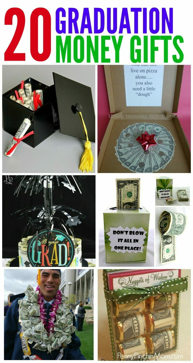 Graduation Gift Ideas Pinterest  More Than 20 Awesome Money Gift Ideas
