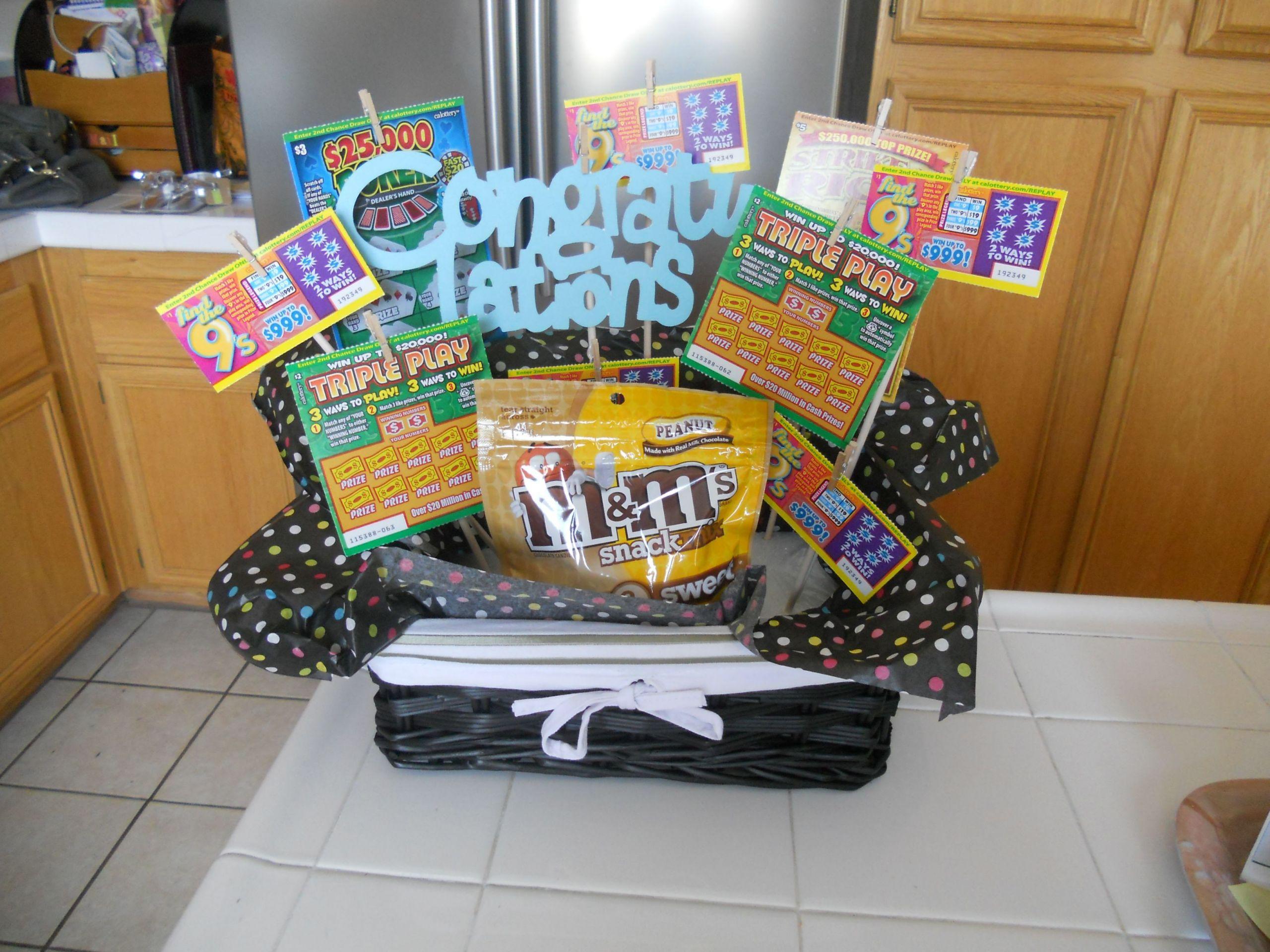 Graduation Gift Ideas Pinterest  Best friend s graduation t Recreated it from an idea