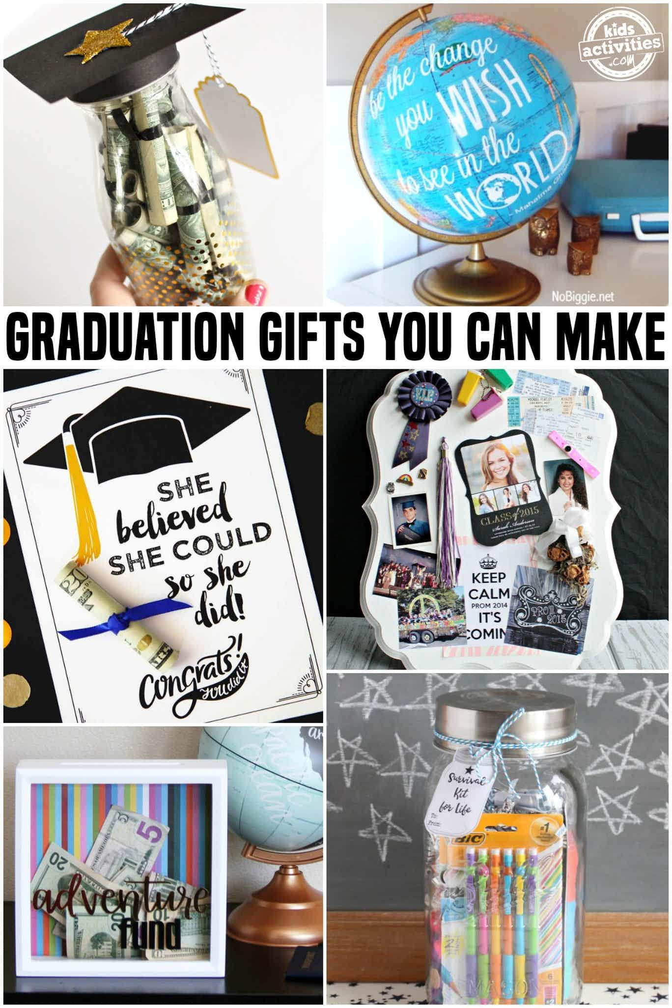 Graduation Gift Ideas Pinterest  Awesome Graduation Gifts You Can Make At Home