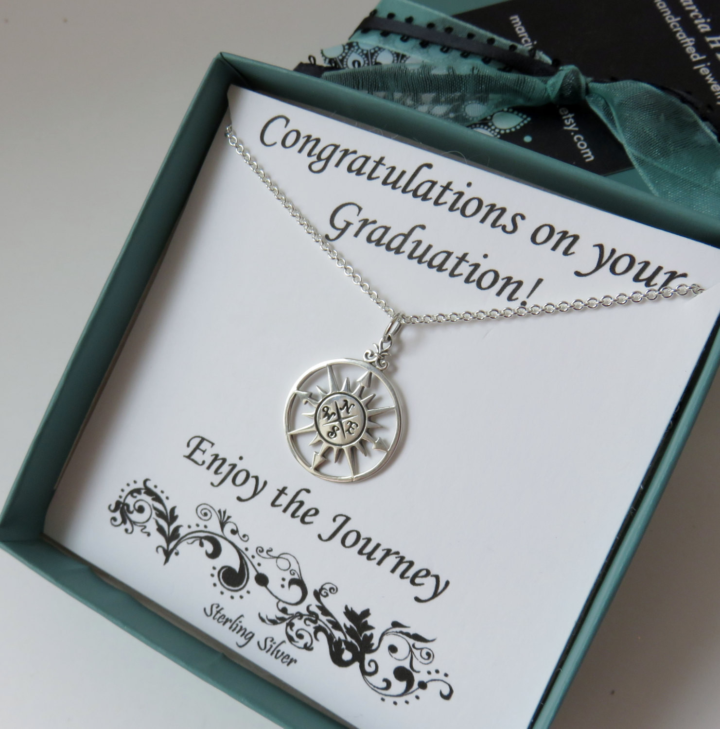 Graduation Jewelry Gift Ideas For Her  Graduation Gift for Her sterling silver high school
