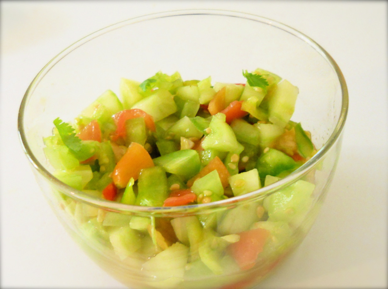 Green Tomato Salsa  Roots of Simplicity A Harvest of Green Making Tomato