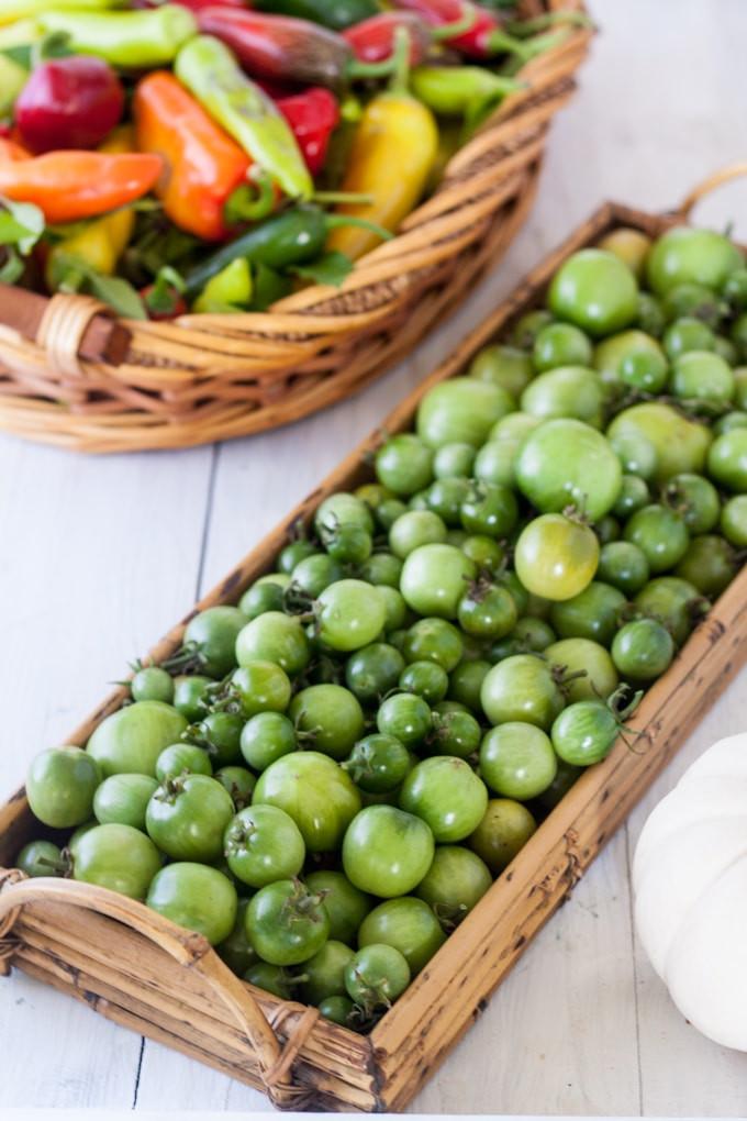 Green Tomato Salsa  Green Tomato Salsa Binky s Culinary Carnival