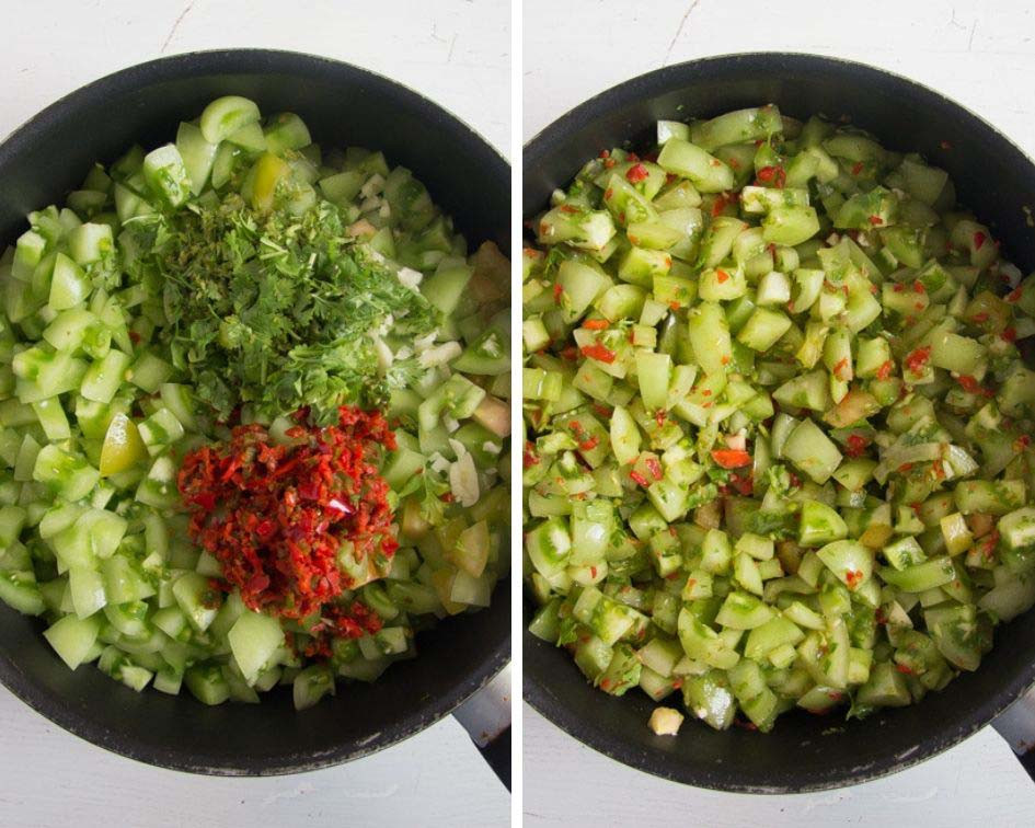 Green Tomato Salsa  Green Tomato Salsa Verde – It s all about home cooking