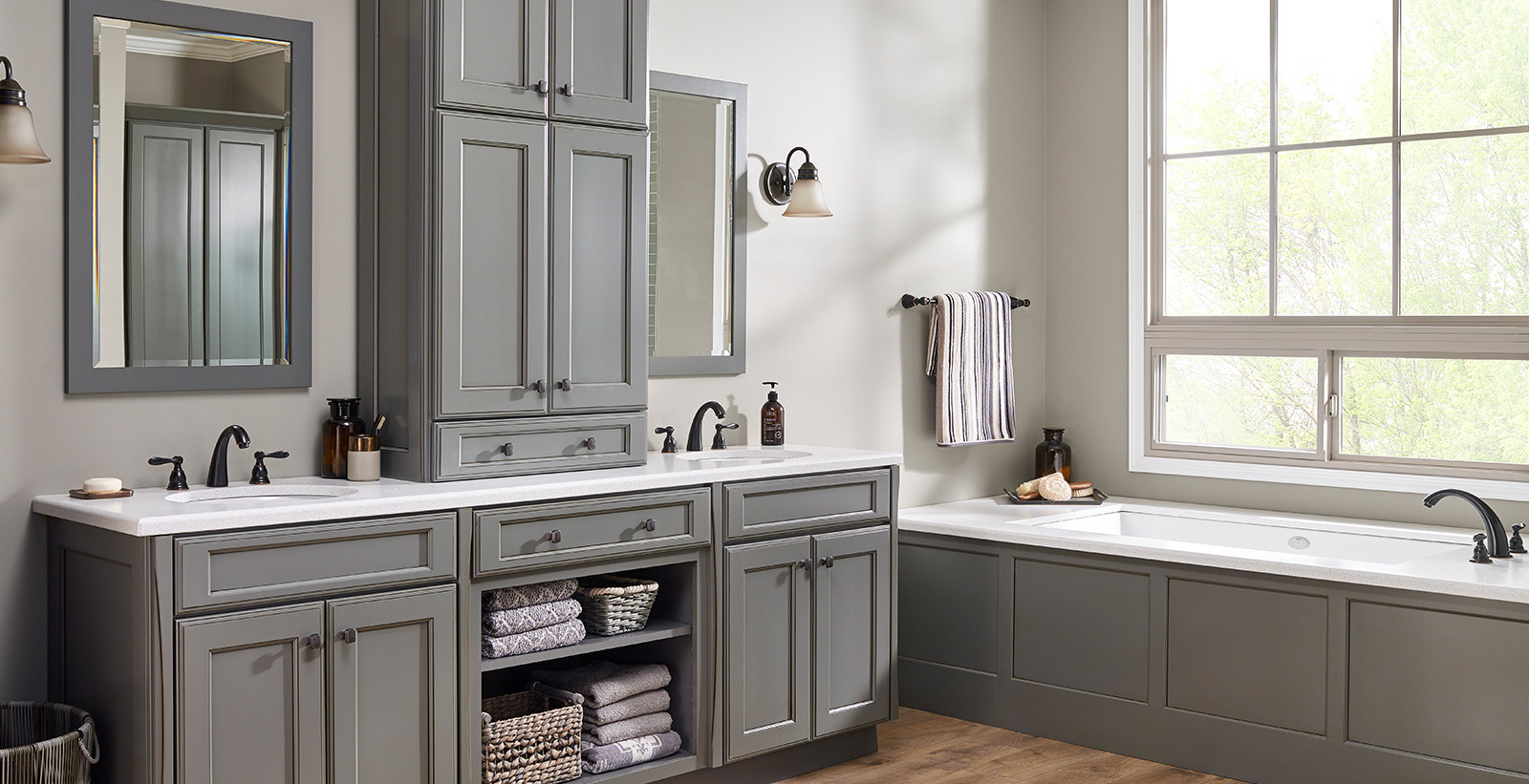 Grey Paint Colors For Bathroom  Warm Gray Bathroom
