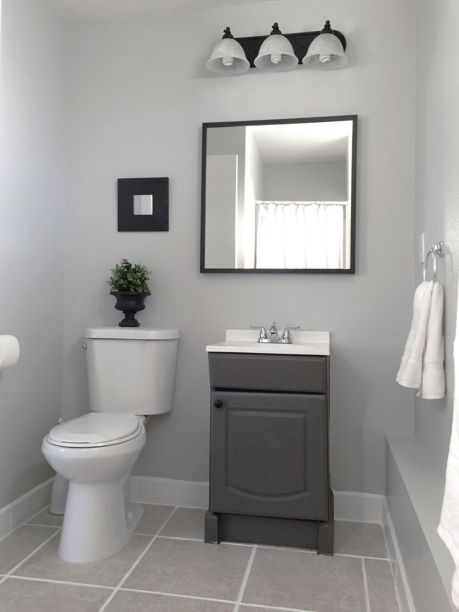 Grey Paint Colors For Bathroom  25 Beautiful Bathroom Color Scheme Ideas for Small