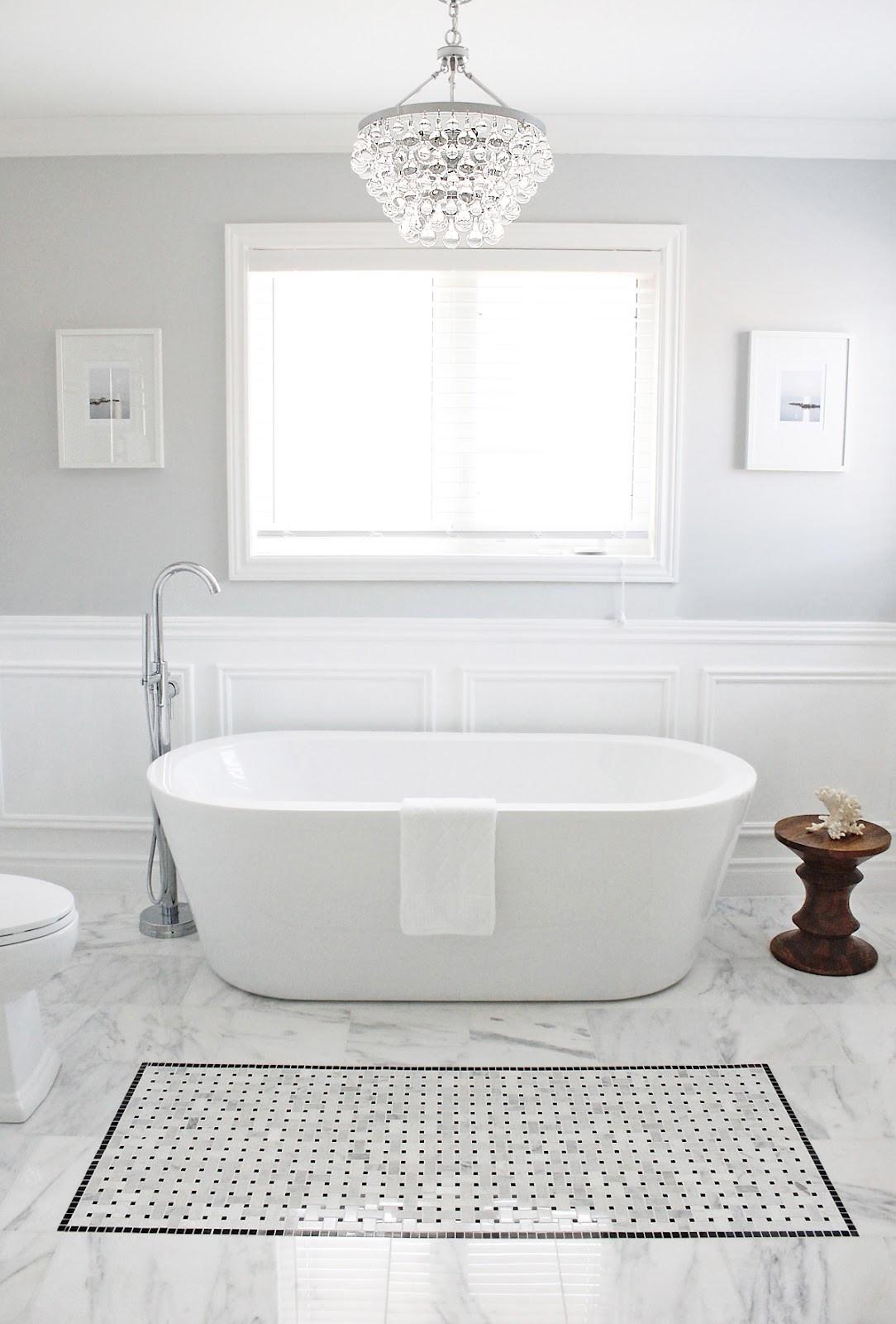 Grey Paint Colors For Bathroom  Valspar Polar Star Light Gray Bathroom Paint Color Home