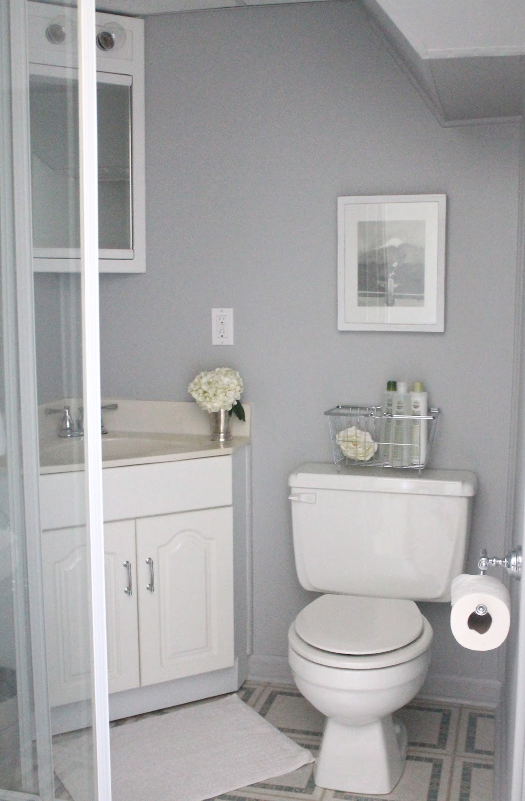 Grey Paint Colors For Bathroom  What to Include in a Guest Bath Julie Blanner