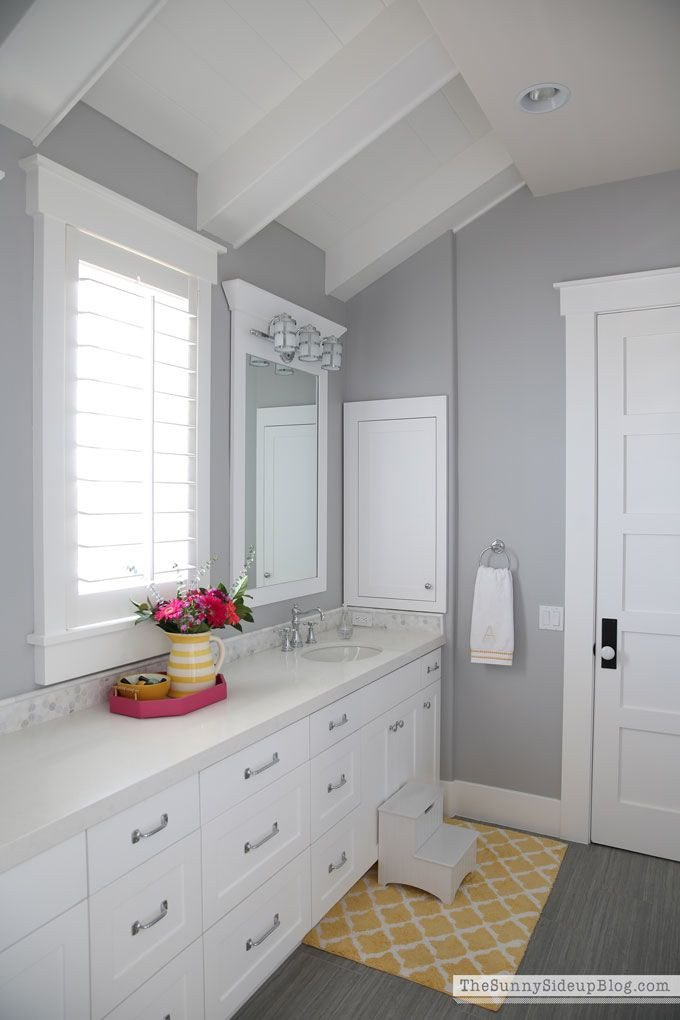 Grey Paint Colors For Bathroom  My Favorite Gray Paint and all paint colors throughout