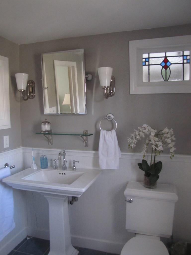 Grey Paint Colors For Bathroom  Favorite Paint Colors Bedford Gray