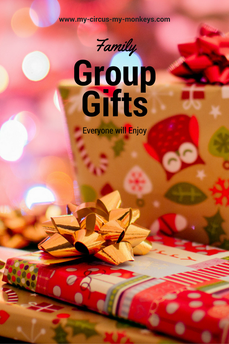 Group Gift Ideas For Christmas  Family Group Gift Ideas