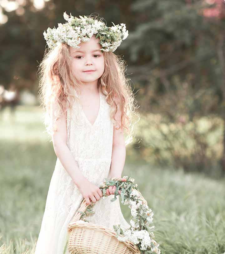 Hairstyles For Little Girls For Weddings  50 Easy Wedding Hairstyles For Little Girls