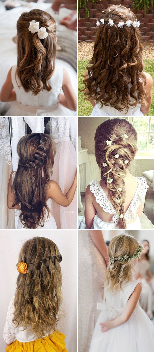 Hairstyles For Little Girls For Weddings  Stylish Wedd Blog – Page 3 – Wedding Ideas & Etiquette