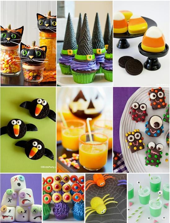 Halloween Food Ideas For Toddlers Party  Cute But Spooky Halloween Food Treats – Just Imagine