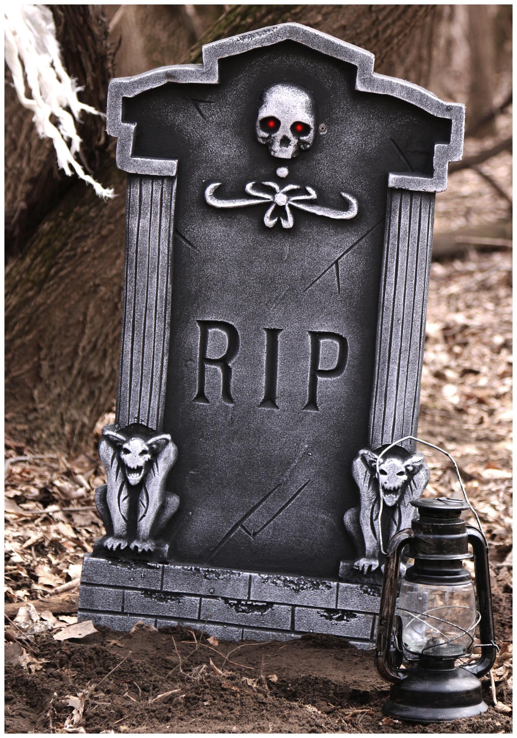 Halloween Grave Stone  36 Tombstone