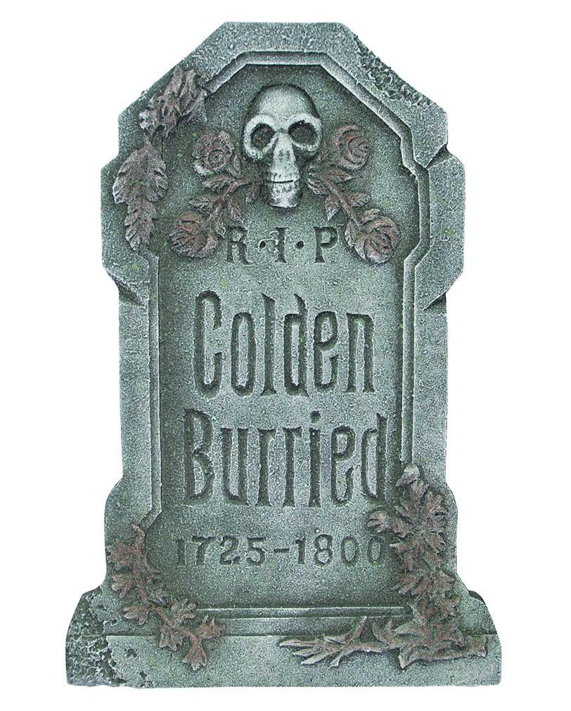 Halloween Grave Stone  Colden Burried Halloween grave stone