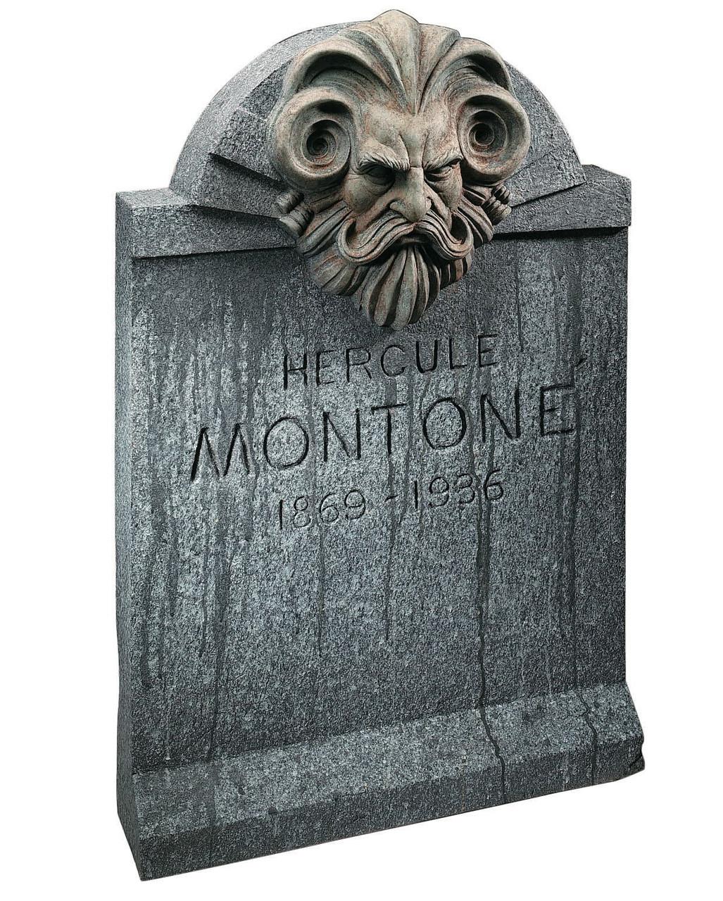 Halloween Grave Stone  Halloween Tombstone Montone 90 X 60 Cm