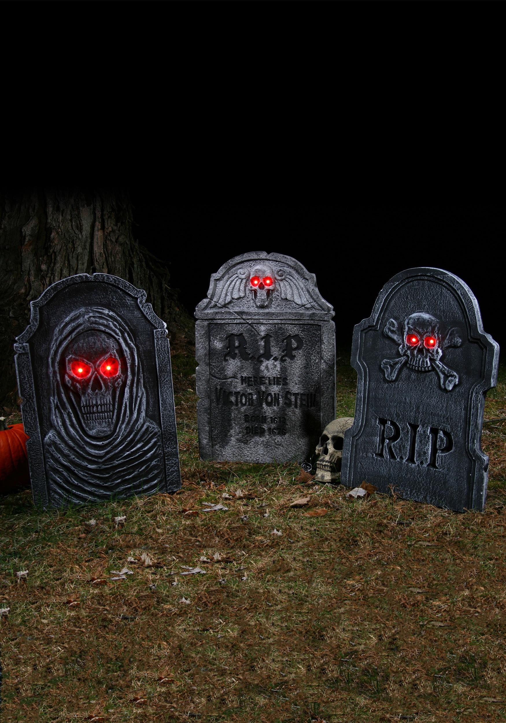 Halloween Grave Stone  RIP Tombstone